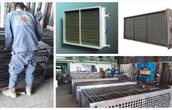Gia công lắp đặt bộ sấy không khí nhiệt điện